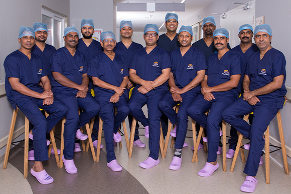 Multifaceted team with a vast cumulative experience of 4,000+ liver transplants